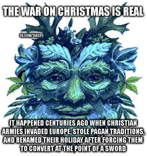 ronn greer war on christmas memes the yule tree