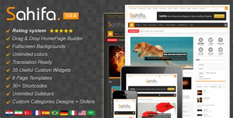 Sahifa Template For Blogger Free Download 2016 All | sahifa template for blogger free download adterian