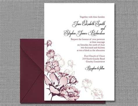 wedding invitation template 7 wedding invitation templates that are and easy to