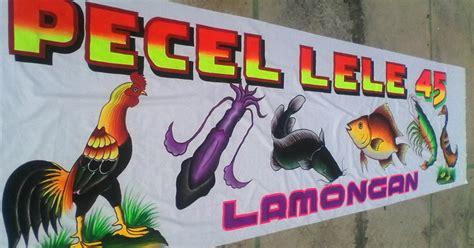 desain gerobak pecel lele hartono orang dibalik spanduk legendaris soto lamongan