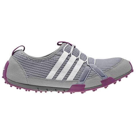 adidas climacool ballerina golf shoes s grey white