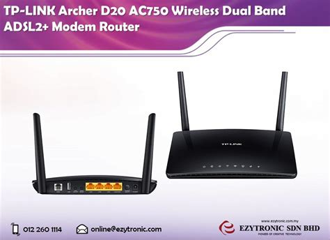Tp Link Archer C20 Ac750 Wireless Dual Band Router New tp link archer d20 ac750 wireless du end 2 14 2017 9 15 am