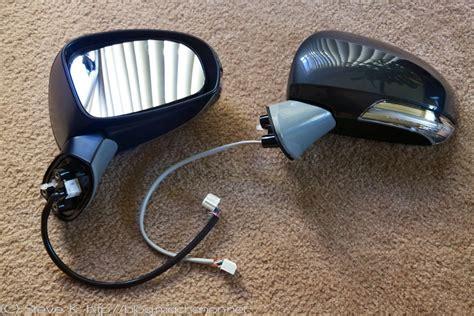 Toyota Auto Foulding Mirror g toyota prius signal mirror jdm prius power folding mirror kit using toyota wish mirrors