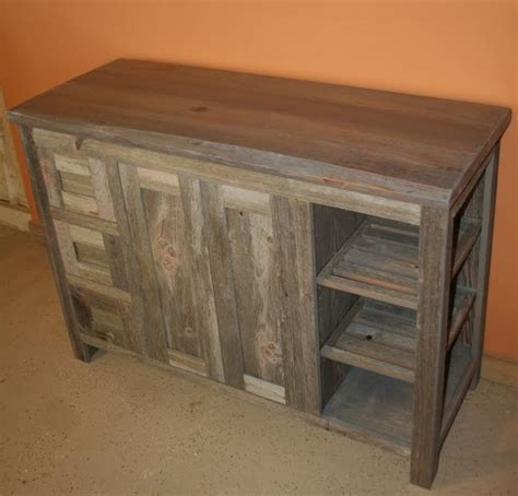 Barnwood Bathroom Vanity Reclaimed Barn Wood Bathroom Traditional Bathroom Vanities And Sink Consoles Other Metro
