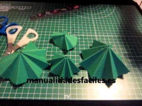 como hacer un arbol de navidad con papel youtube