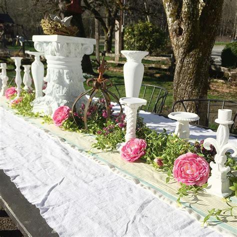 Metal Orb Chandelier Vintage Outdoor Garden Party Decoration Ideas Hallstrom Home