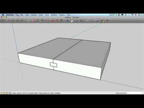 google sketchup woodworking dovetails tutorial sketchup for woodworkers joints joints joints youtube