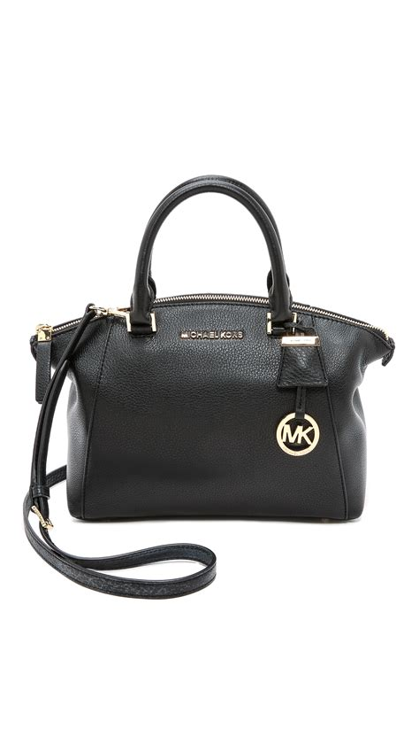 Small Satchel by Michael Michael Kors Small Satchel Black In Black