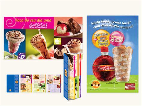 design banner menu caf 233 donuts poster banner and menu design stela