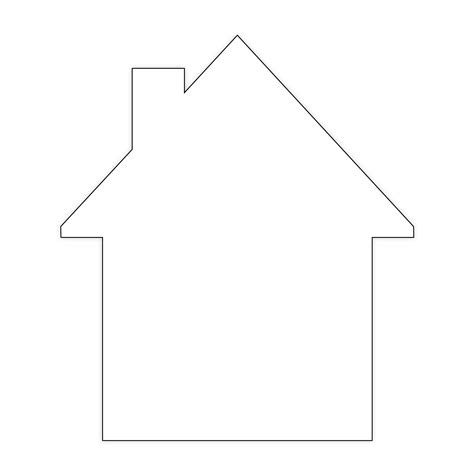 Cut Out house cut out paper cut out hygloss products