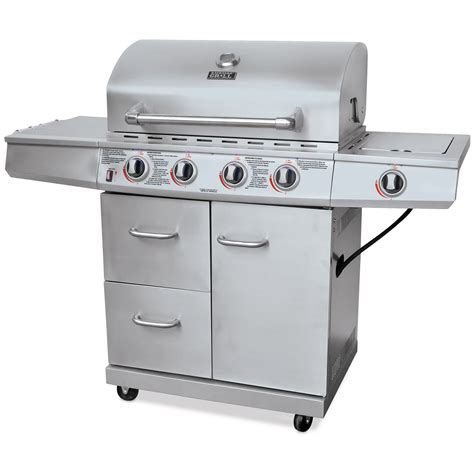 Backyard Brand Grills Barbecue Au Gaz 4 Brleurs En Acier Inoxydable De Backyard Grill Gogo Papa