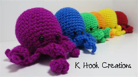 amigurumi pattern octopus no sew tiny octopus amigurumi pattern k hook creations