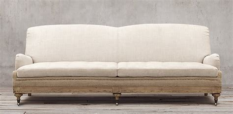 restoration hardware deconstructed sofa restoration hardware deconstructed english roll arm sofa