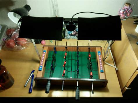foosball table setup robot foosball part 1 intro and vision