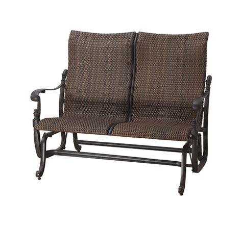 florence by gensun luxury wicker patio furniture high back