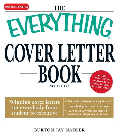 cover letter for book the everything cover letter book ebook by burton