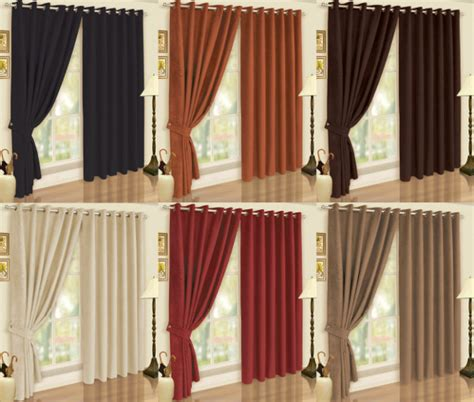 caramel curtains faux suede soft touch 200 gsm fully lined eyelet ring top