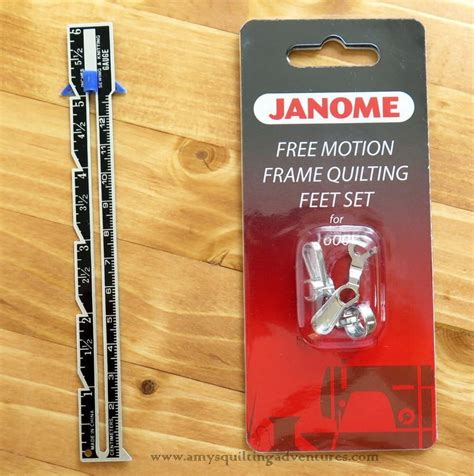 Janome Free Motion Quilting by Products S Quilting Adventures