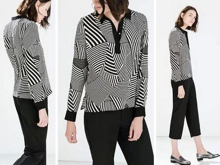 Glacier Atasan Blouse Black Original 5 model baju zara original terbaru untuk til oke