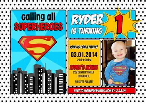 10 Images About Superman Invitations On Pinterest Photo Invitations Superman Birthday Party Superman Baby Shower Invitation Template