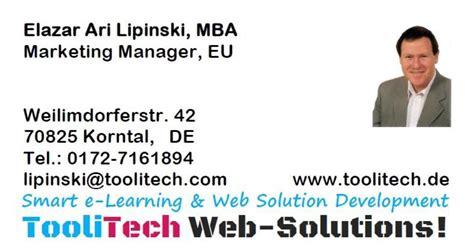 Mba Marketing Deutschland by Ari Lipinski Web Design Smart E Learning Solution High