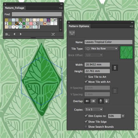 pattern swatches illustrator cs6 illustrator how to make a pattern that seamlessly repeats