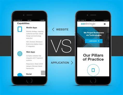 responsive design vs app mobile website design vs responsive web design novage