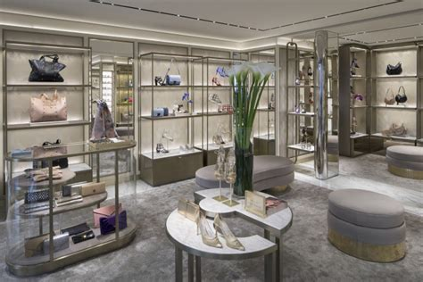 Iconic Architecture jimmy choo design store by christian lahoude studio