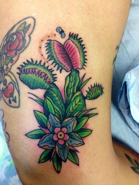 venus flytrap tattoo carnivorous plant sketch zoeken tattoos