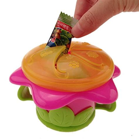 Nuby Snack Keeper Container Tempat Bayi snack keeper by nuby snack caps storage jars lids storage organization containers
