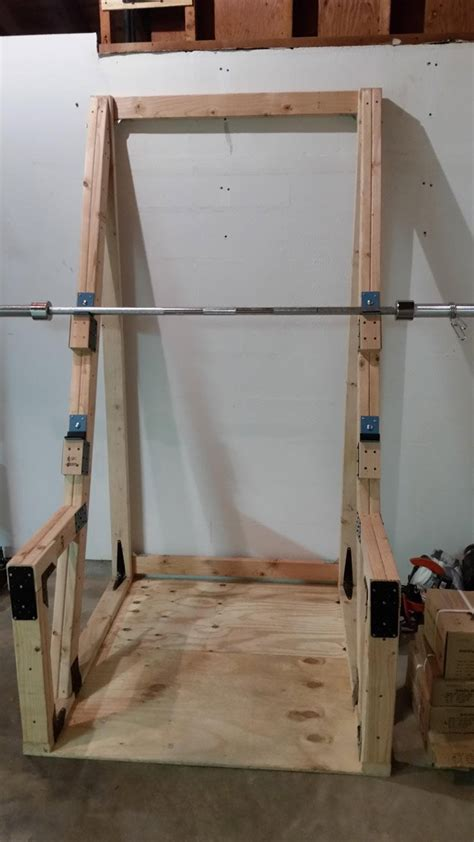Wood Power Rack by 9 Diy Squat Rack Ideas Diy Ready