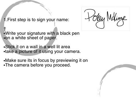 How To Make Your Own Signature On Paper - how to create your own signature
