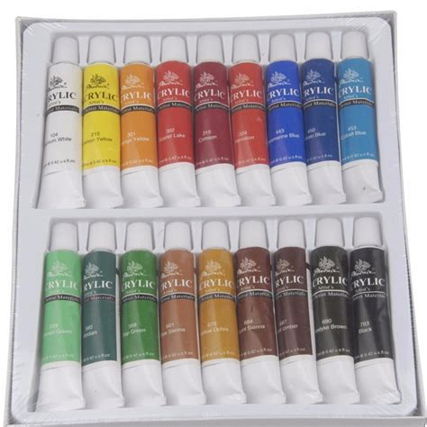 unique quality 18 colors acrylic paint buy acrylic paint 18 colors acrylic paint quality