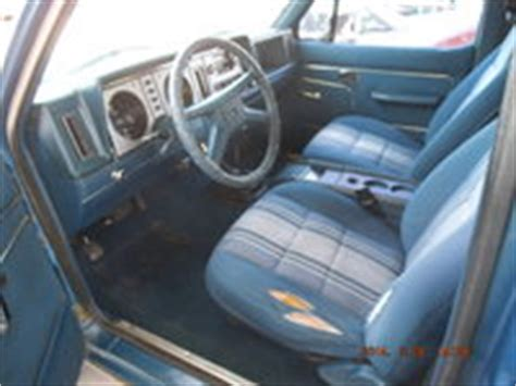 1985 Ford Bronco Interior by 1984 Ford Bronco Ii Pictures Cargurus