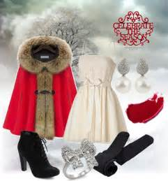 Latest christmas party outfits 2013 2014 polyvore xmas costumes ideas