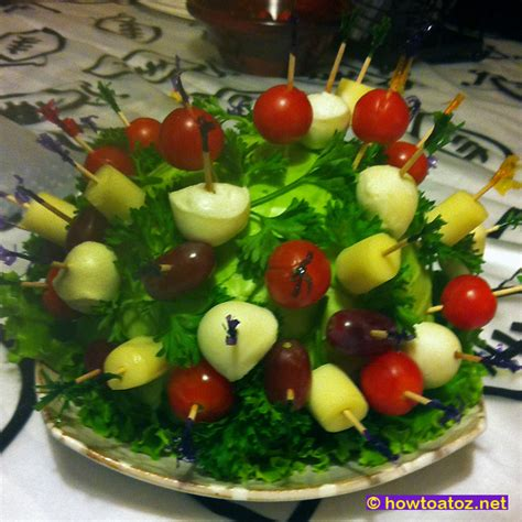 Food Plate Decorating Ideas by The Gallery For Gt Green Salad Decoration Ideas