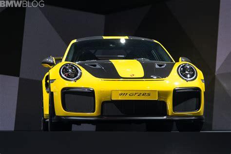 Porsche Racing News by Porsche S Latest Hot Race Car Comes To Frankfurt 911 Gt2