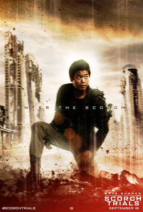 maze runner next film minho does not get captured in the books but he does in