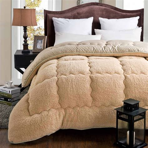 is a duvet the same as a comforter aliexpress com buy 100 cashmere winter warm thick quilt