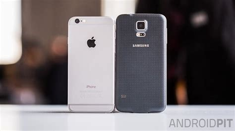 test comparatif iphone   samsung galaxy  androidpit