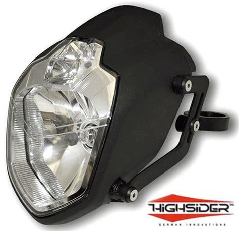 Motorrad Doppelscheinwerfer by Custom Streetfighter Motorcycle Headlights Www Imgkid