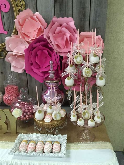 Table Set Decoration 15 Bridal Shower Birthday Baby Shower it s a baby shower ideas photo 5 of 13