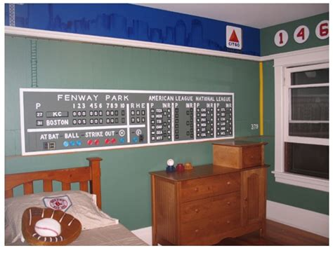 Fenway Park Wall Mural red sox room on pinterest boston red sox fenway park