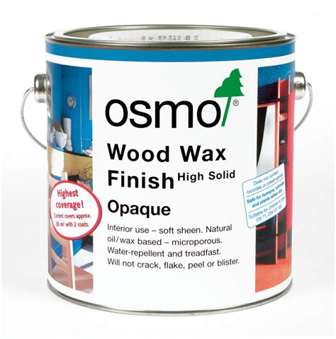 woodworking wax osmo wood wax finish opaque