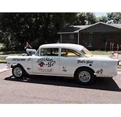 1955 Chevy Belair Gasser Street Rod Willys 1956 1957