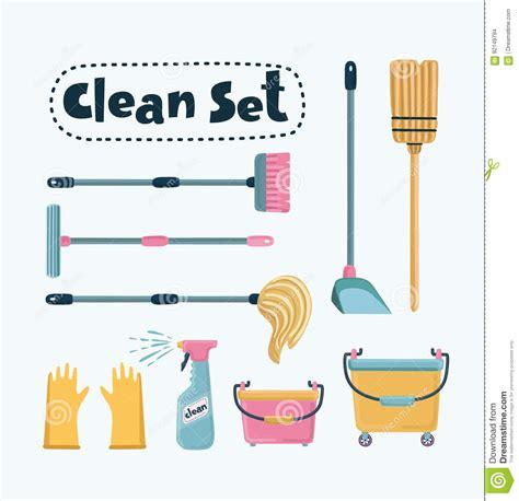 Cleaning Set vector cleaning set vector illustration cartoondealer 92149794