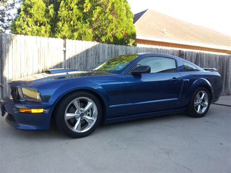 mustang vista blue vista blue 2007 mustang gt cs the mustang source ford