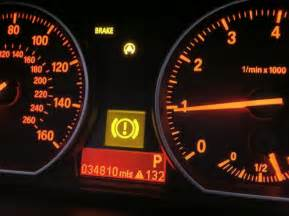 bmw 328i how to turn brake warning light in