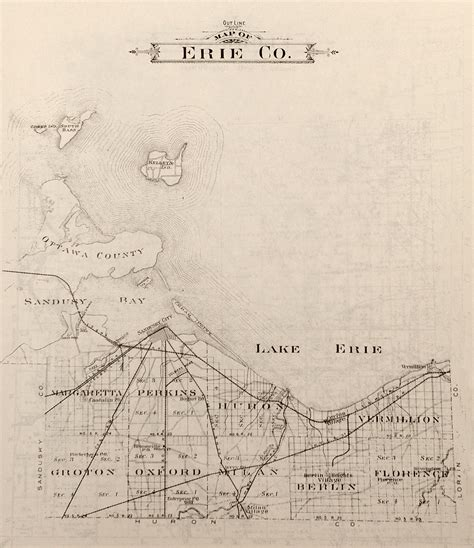 Erie County Records Ohio Historical Maps Erie County Ohio Historical Society Resources Info