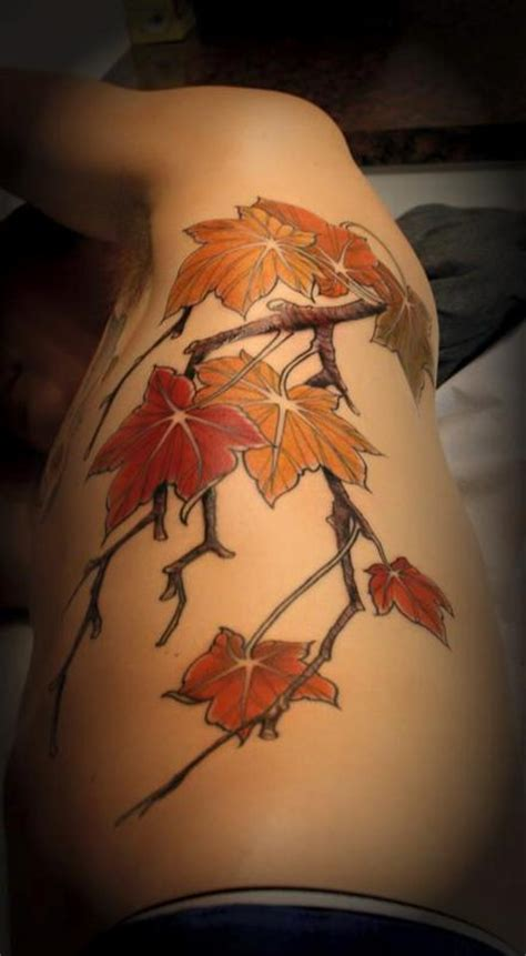 maple tree tattoo the map